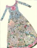 Paris Map Dress